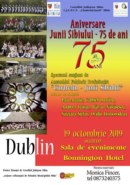 Junii Sibiului  - mesageri ai folclorului românesc în Irlanda