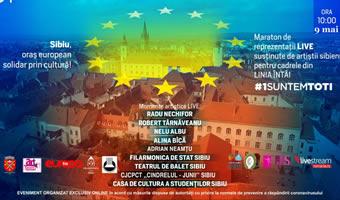 """Junii Sibiului – parte din proiectul """"Sibiul, oraș al culturii, solidar prin cultură!"""""""